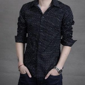 Mens Dotted Shirts