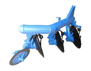 Big Tractor Disc Plough
