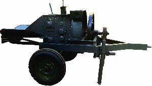 Mini Tractor Chaff Cutter