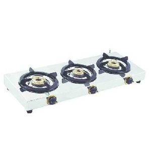 Stainless Steel Three Burner Lpg Stove