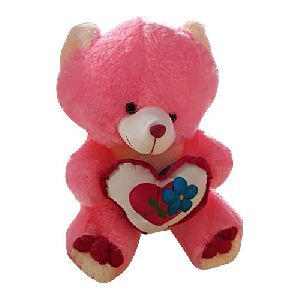 Poly Heart Teddy bear