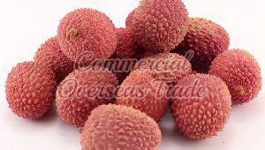 Exotic Lychee fruits