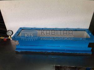 Vacuum box weld test units