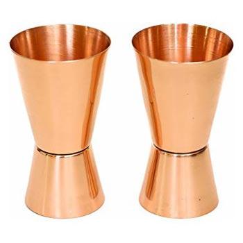 Copper Jigger Shot Glasses