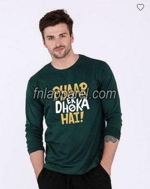 Pyaar Ek Dhoka Hai Mens Full Sleeve T-Shirt