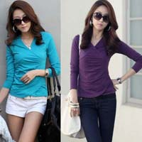 Ladies Full Sleeve Tops