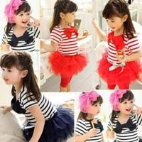 Girls Striped Shirts