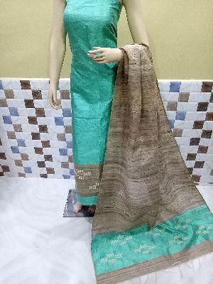 Ladies Raw Silk Suit Material