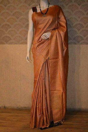 Pure Tussar Munga Soft Silk Sarees