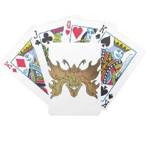 Razrwing Burn Flesh Playing Cards