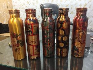 Copper Printed  Bottles