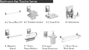 Touche Series Bathroom Fittings