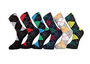 Mens Argyle Socks