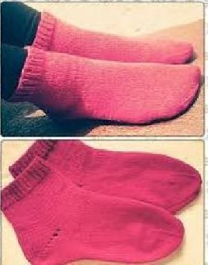 Ladies Knitted Ankle Length Socks