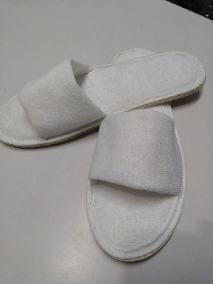Open Toeterry Towel Slippers