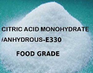 Food Grade Citric Acid Monohydrate e330 Citric Acid-USP/FCC/Ph/Eur and JP/BP/E331 Anhydrous