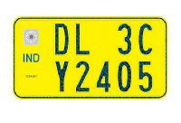 High Security Registration Plates