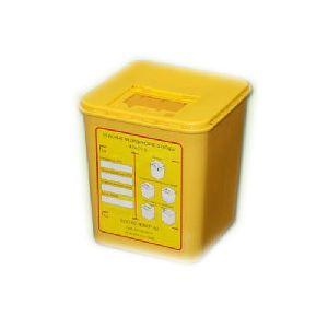 Disposable Container For Waste Sharps