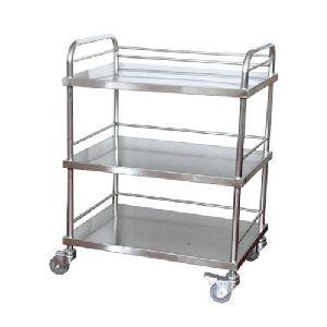 Movable Manual Steel Folding Cart