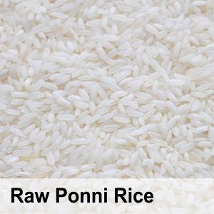 Raw Ponni Rice