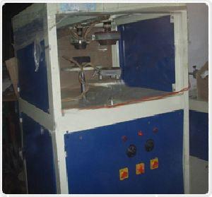 Semi Delux Double Die Paper Plate Making Machine