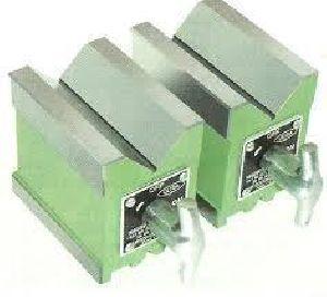 Ground Magnetic V Blocks