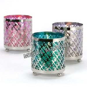 Hurricanes Candle Holders