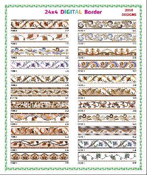 24x4 Digital Border Tiles