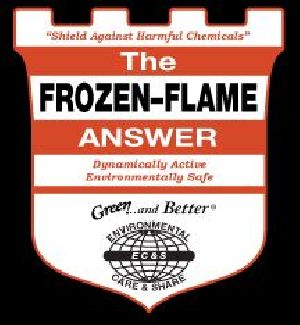 The Frozen-Flame Answer