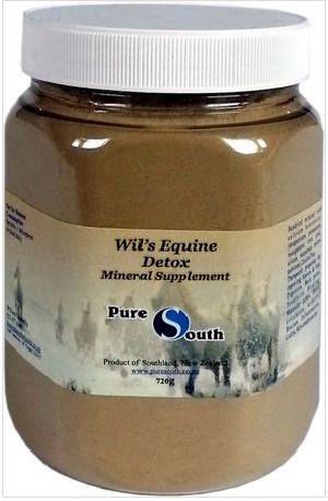 720g Wil's Equine Detox Mineral Supplement Powder