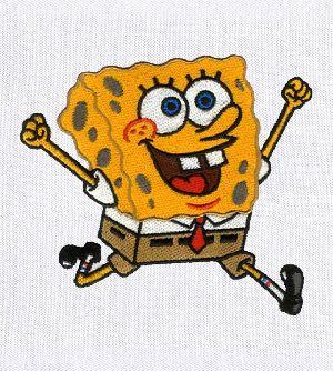 Endearing Spongebob Squarepants Embroidery Design