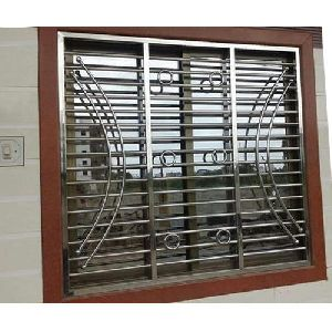 Stainless steel window grills manufacturers suppliers for Window design bangladesh