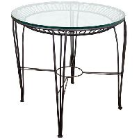 Wrought Iron Center Table