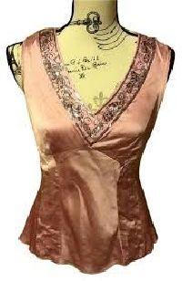 Silk Beaded Blouse