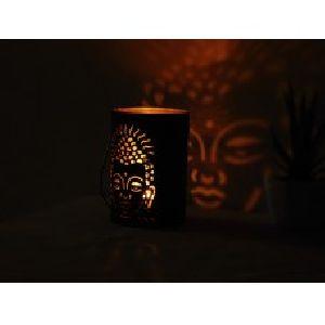 Buddha Votive Metal Tea Light Candle Holder