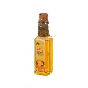 100ml Bottle Anupam Organic Cold Pressed Flax Seed Oil