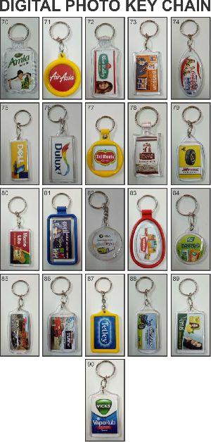 Digital Photo Keychains