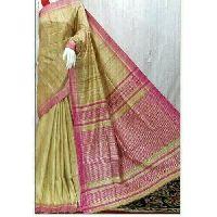 Fancy Ghicha Silk Saree