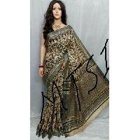 Ghicha Print Silk Saree