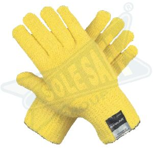 Kevlar Para Aramid Knitted Seamless Gloves