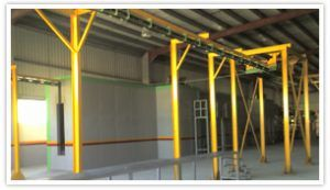 Automatic Conveyorised Powder Coating Plants