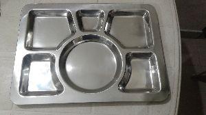 Roti Tray / Compartment Tray