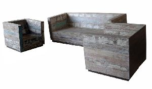 Recycled Sofa Set