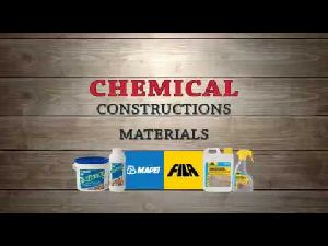 Construction Chemical Materials
