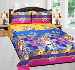 Multi Colored 5d Winter Bed Sheets
