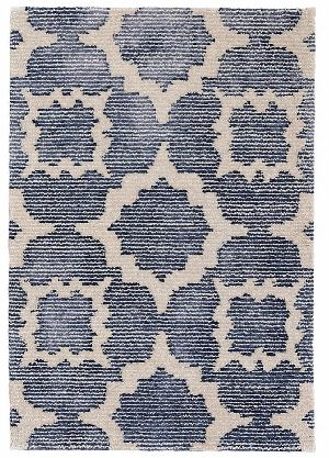 Hand Knotted Wool Viscose Carpet