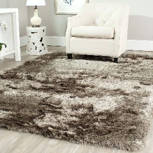 Polyester Woolen Shaggy Carpet