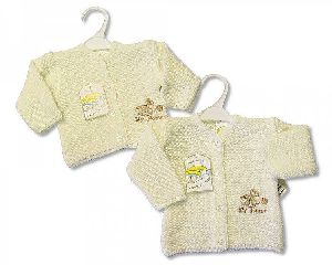 1074 Baby Girl Knitted Cardigan