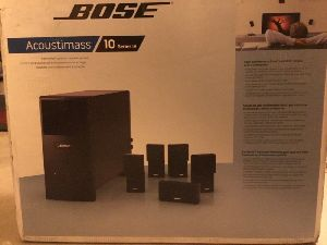 Bose Acoustimass 10 Iv Home Theater System