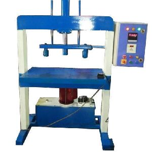 Hydraulic Double Die Wrinkle Plate Making Machine